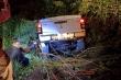 Đạp nhầm chân ga, ô tô lao xuống vực sâu trong đêm trên núi Sơn Trà