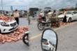 Bị đâm hỏng Mercedes, nữ tài xế hành động đẹp, không bắt đền lái xe ba bánh