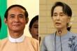 Quân đội Myanmar điều tra tham nhũng loạt thân cận của bà Aung San Suu Kyi