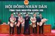 Thái Nguyên có tân Chủ tịch HĐND và Chủ tịch UBND tỉnh