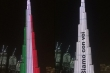 Tòa tháp cao nhất thế giới cổ vũ Italy vượt qua đại dịch Covid-19