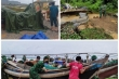 Ảnh: Bão chưa đổ bộ đã giật đổ chốt kiểm soát, cuốn đứt cầu ở Huế và Quảng Trị