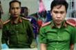 Bắt 2 kẻ giả cảnh sát hình sự đọc lệnh bắt người ở TP.HCM