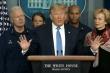 Ông Trump nhắn dân Mỹ trước dịch Covid-19: 'Hãy thư giãn, chúng ta đang làm tốt'