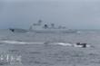 Trung Quốc điều khu trục hạm Zibo lần đầu tập trận trên biển Hoa Đông