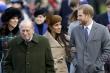 Hoàng tử Harry sẽ dự tang lễ của Hoàng thân Philip, Meghan thì không