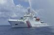 Tàu hải cảnh Trung Quốc ngang ngược hoạt động ở Biển Đông suốt năm qua