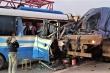 Xe khách đi lễ đền tông xe tải gây chết người: Tạm giữ tài xế