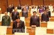 Quốc hội mặc niệm tướng Nguyễn Văn Man và chiến sĩ, đồng bào hy sinh