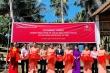 Khánh thành con đường mới tới trường cho các em học sinh xã Thanh Sơn