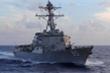Mỹ điều khu trục hạm đi qua eo biển Đài Loan