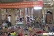 Trường mầm non bị tốc mái, 37 học sinh phải lót chiếu ngủ trong hội trường thôn