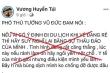Đăng bịa đặt phát ngôn của PTT Vũ Đức Đam, facebooker bị phạt 7,5 triệu đồng