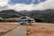 Quảng Nam: Cận cảnh trực thăng đưa hàng tiếp tế tới vùng cô lập ở Phước Sơn