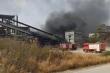 Cháy lớn ở nhà máy xi măng Sông Đà Yaly