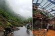 Mưa lớn, hơn 400 nhà dân Yên Bái bị tốc mái, đất sạt lở chặn quốc lộ 3B