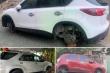 Bắt 'siêu trộm' bánh xe ô tô ở Nghệ An