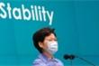 Lãnh đạo Hong Kong nói sẽ hợp tác với Bắc Kinh đáp trả Mỹ