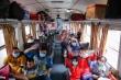 Chuyến tàu đặc biệt chở công nhân về quê đón Tết