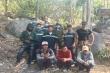 Công an Đồng Nai giải cứu 5 thanh niên bị lạc trong rừng rậm
