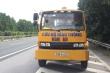 Tạm giữ xe cứu hộ chạy ngược chiều trên cao tốc Pháp Vân-Cầu Giẽ