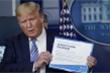Đài Mỹ đồng loạt cắt sóng phát biểu của Tổng thống Trump về Covid-19