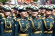 Ảnh: Những 'bông hồng Nga' tại lễ duyệt binh Ngày Chiến thắng