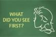 Trắc nghiệm vui đoán tính cách: Bạn nhìn thấy người phụ nữ hay ông già?