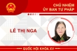 Infographic: Sự nghiệp Chủ nhiệm Ủy ban Tư pháp của Quốc hội Lê Thị Nga