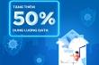 MobiFone tặng thêm 50% dung lượng vào các gói cước data cho khách hàng
