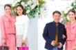 Công Lý cùng tân nương đến mừng đám cưới MC Thuỳ Linh