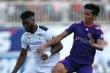 Đề nghị xử lý nghiêm cầu thủ 'hiền nhất Sài Gòn FC' ném bóng vào mặt Hồng Duy
