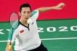 Trực tiếp Olympic Tokyo 2020: Tiến Minh thua đậm tay vợt số 3 thế giới