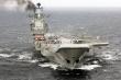 Ảnh: Tàu sân bay Đô đốc Kuznetsov của Hải quân Nga sắp trở lại đại dương