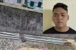 Bắt giữ nam thanh niên dùng dao 'phóng lợn' tấn công công an