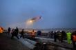 Bộ Quốc phòng điều trực thăng cứu 8 thuyền viên gặp nạn trên biển Quảng Trị