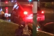 'Xe điên' đâm hàng loạt xe máy dừng đèn đỏ ở  Hà Nội: Truy tìm lái xe