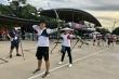 Ngày tập luyện đầu tiên của Đoàn thể thao Việt Nam tại Olympic Tokyo