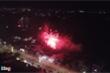 Pháo lậu nổ sáng rực trời đêm giao thừa ở Hà Tĩnh