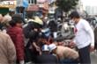 Xe cứu thương của ông Đoàn Ngọc Hải lần đầu chở người tai nạn đi cấp cứu