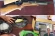 Triệt phá cơ sở sản xuất súng đạn tự chế ở Thanh Hóa