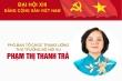 Infographic: Sự nghiệp Thứ trưởng Bộ Nội vụ Phạm Thị Thanh Trà