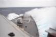 Tàu khu trục USS Barry của Hải quân Mỹ đi qua eo biển Đài Loan