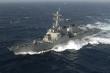 Mỹ điều tàu chiến đi qua eo biển Đài Loan cùng thời điểm Trung Quốc tập trận