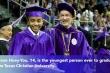 'Thần đồng' 17 tuổi nhận bằng thạc sĩ