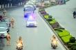 Phân luồng giao thông từ xa, phòng ngừa ùn tắc giao thông phục vụ Đại hội Đảng