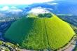 Ngọn núi lửa xanh mướt như bánh trà xanh siêu to dành tặng người yêu thiên nhiên