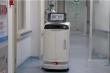 Hai robot đưa thuốc cho bệnh nhân nhiễm virus corona ở Trung Quốc