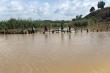 Vỡ đê bao ở Đắk Lắk, hơn 1.000 ha lúa sắp thu hoạch ngập trong nước