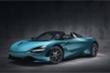 Siêu xe McLaren 720S Spider màu xanh lạ mắt, giá 350.000 USD